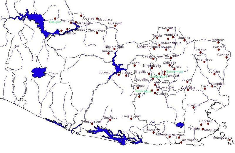 Lenca federation of 900 AD, El Salvador
