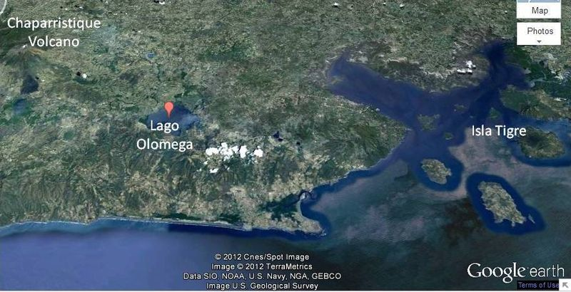 Olomega map