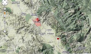 Tehuacan coxcatlan