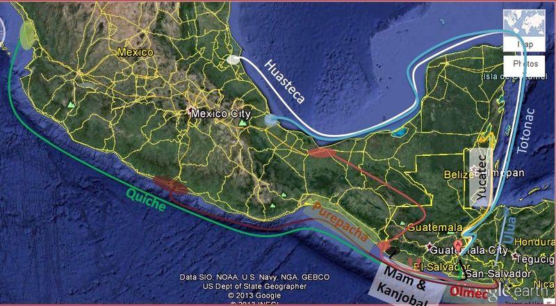 Pellagra map