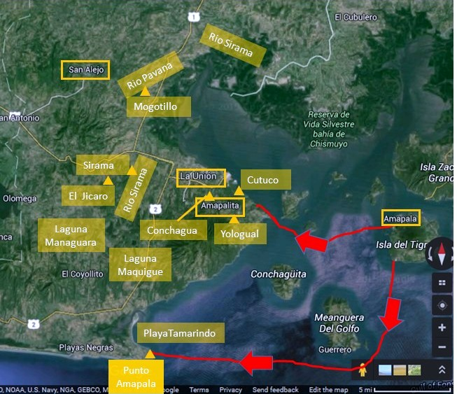 Tsunami-east elsalv